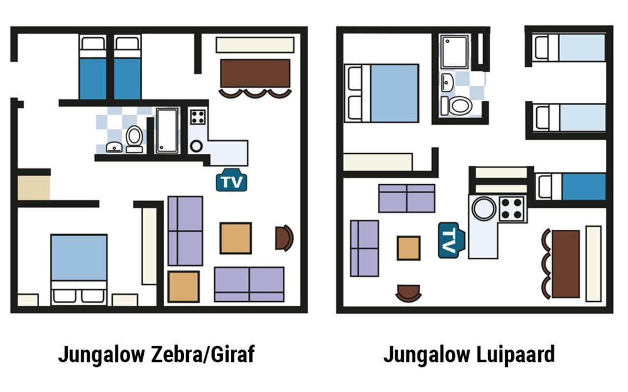 bernachten im komfortablen jungalow f r 6 personen beekse bergen. Black Bedroom Furniture Sets. Home Design Ideas