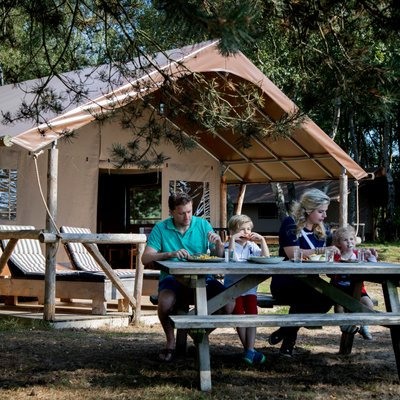 <h4>Camp luxuriously</h4>