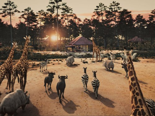 <h4>Het Safari Resort</h4>