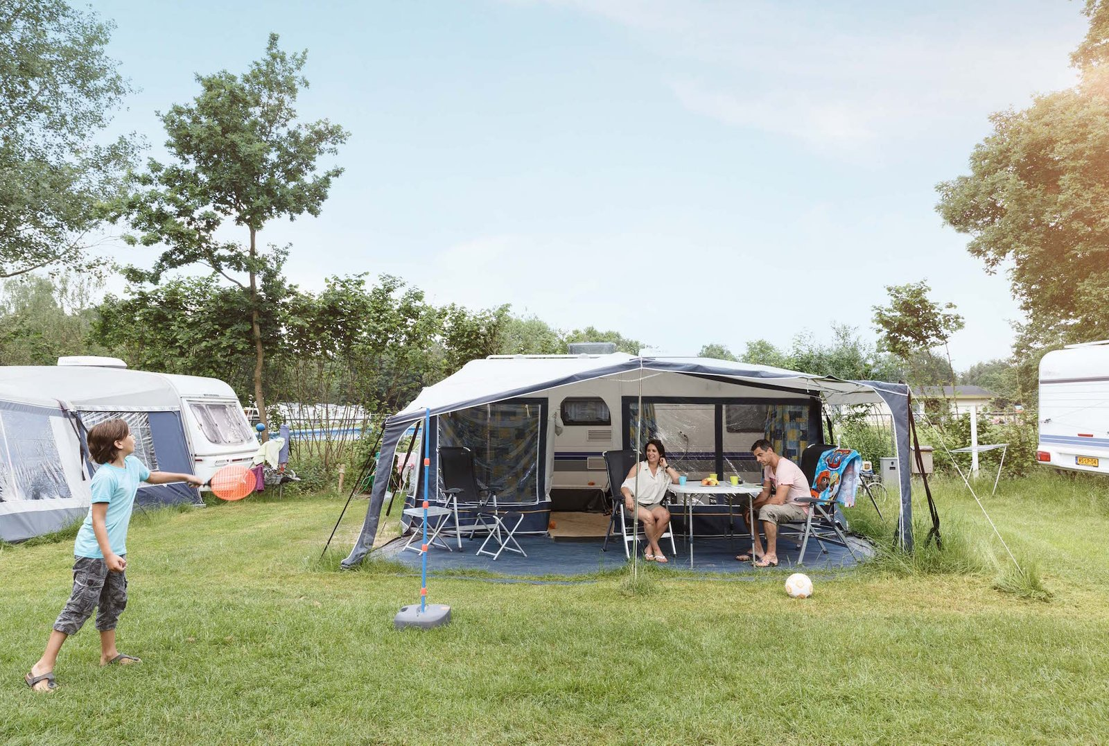Camping On Luxury Pitch Beekse Bergen